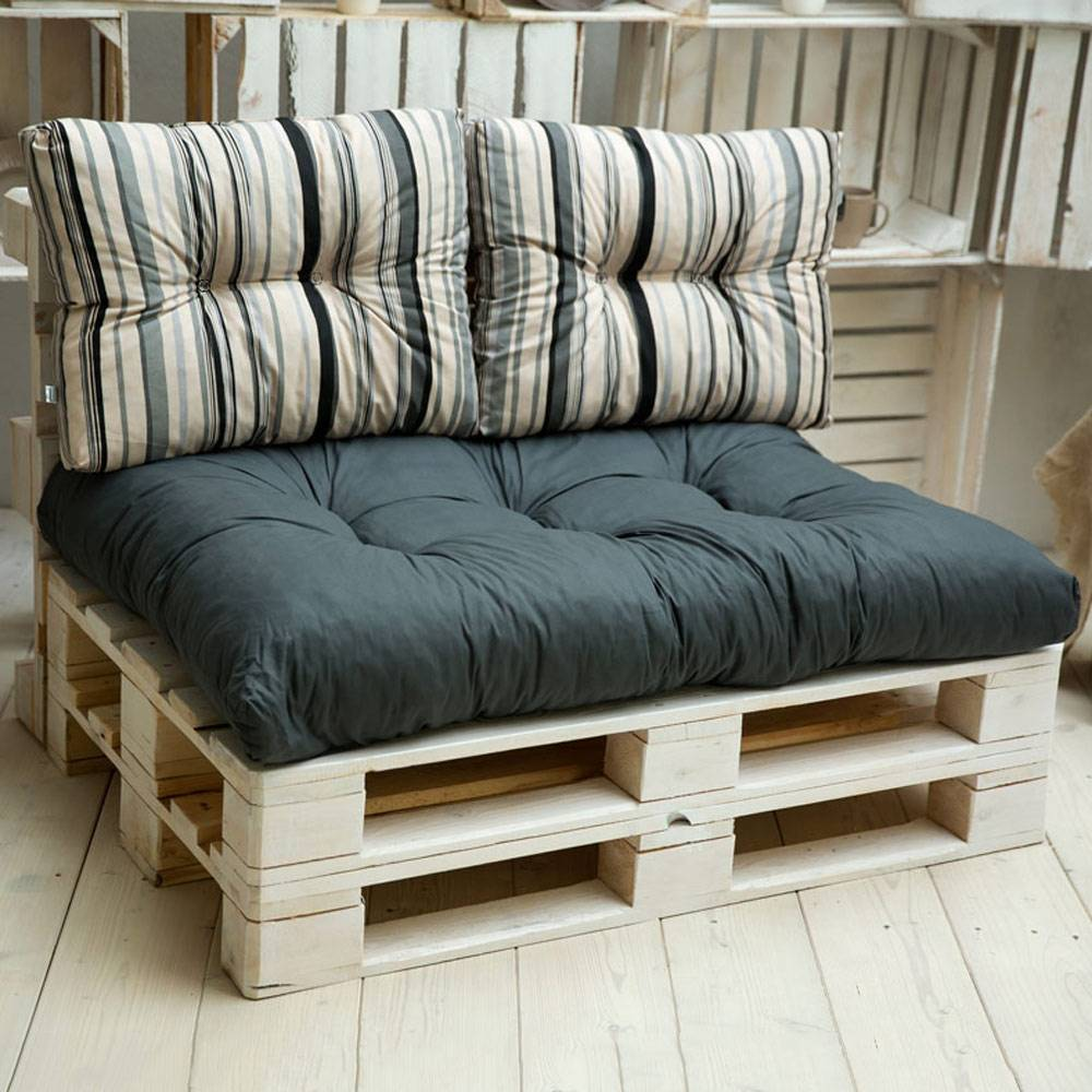 Komplet poduszek na palety Termi L055-06LB PATIO