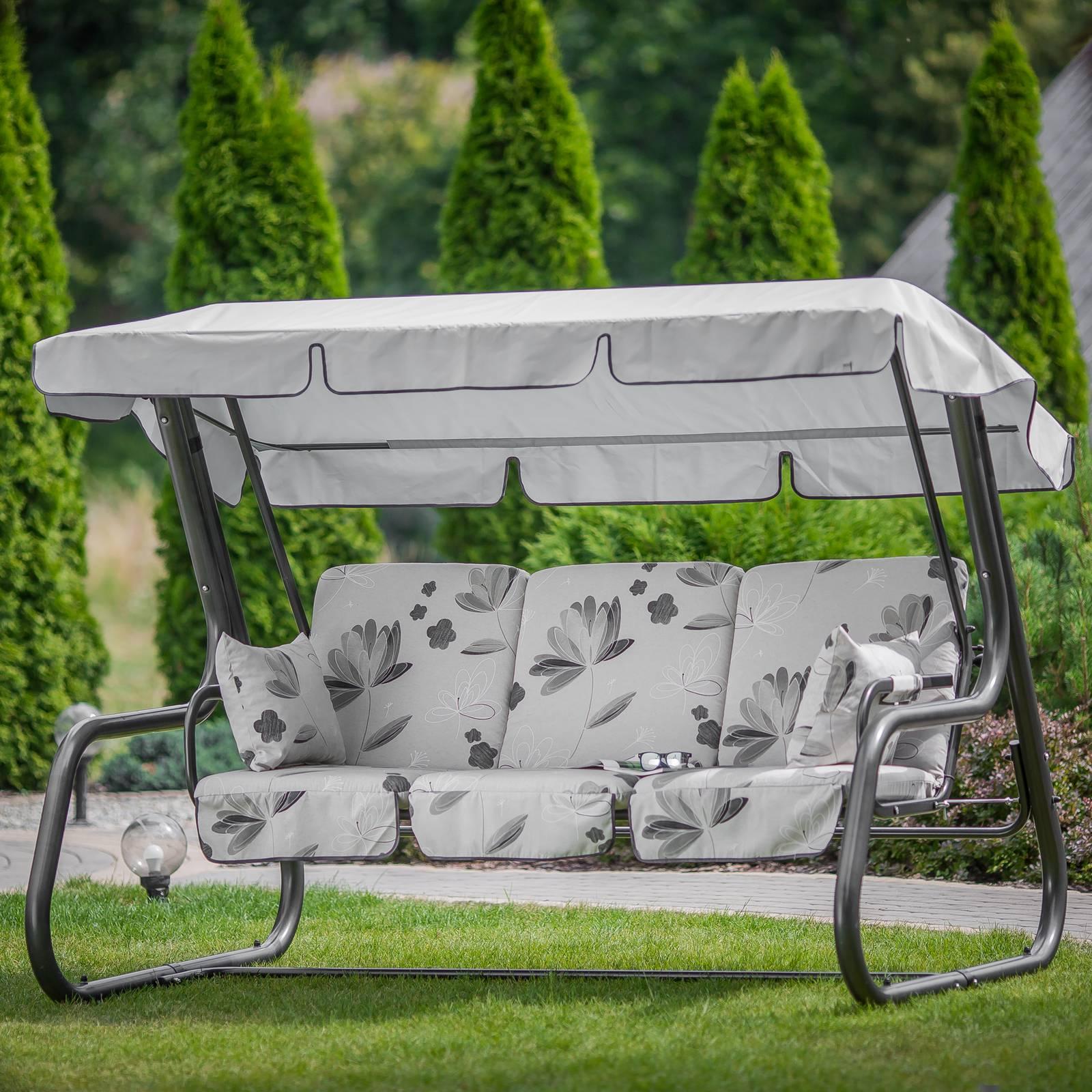 Replacement garden swing cushions 180 cm Rimini / Venezia A035-04LB PATIO