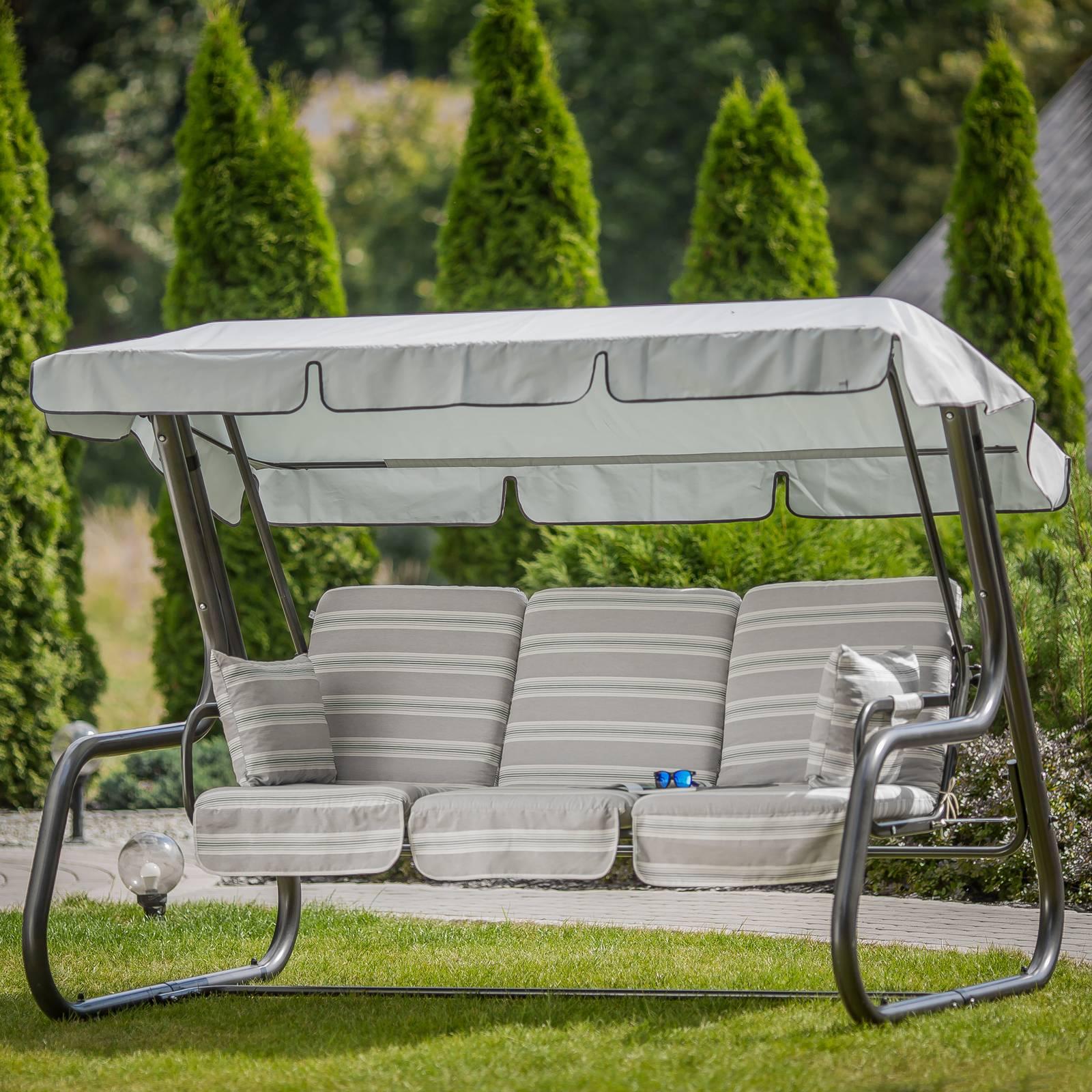 Replacement garden swing cushions 180 cm Rimini / Venezia C028-01PB PATIO