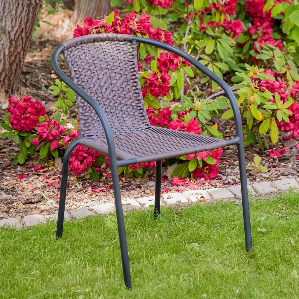 Fotel Bistro Plus brązowy PATIO