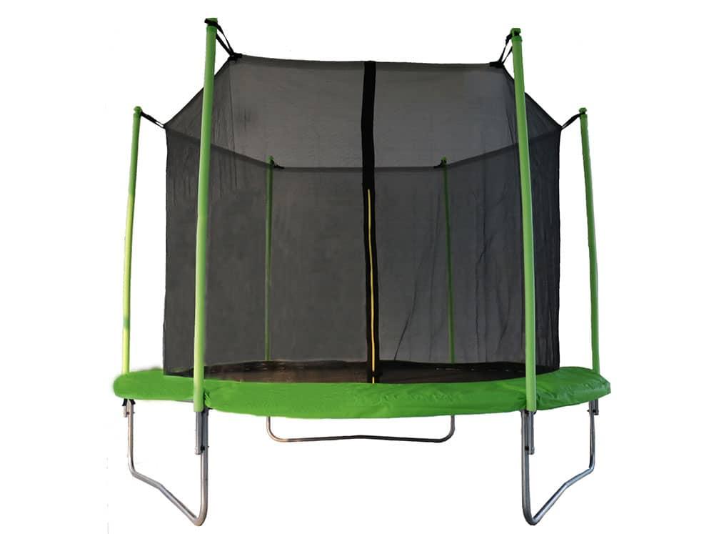 Trampoline de jardin 244 cm avec filet de sécurité CE PATIO