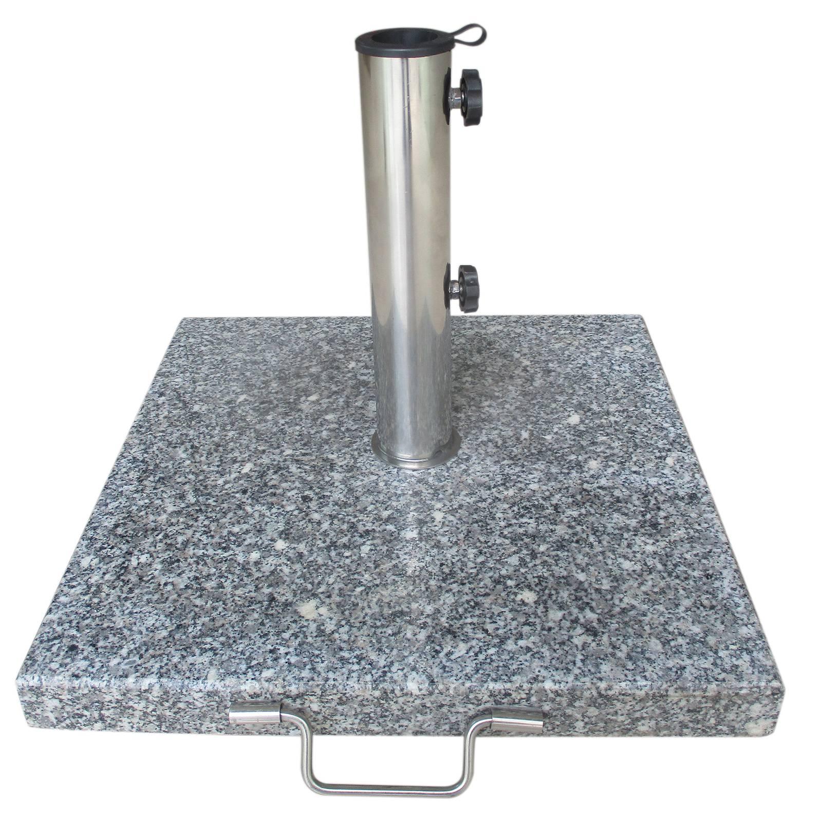 Sonnenschirmständer Granit Grau 30 kg PATIO