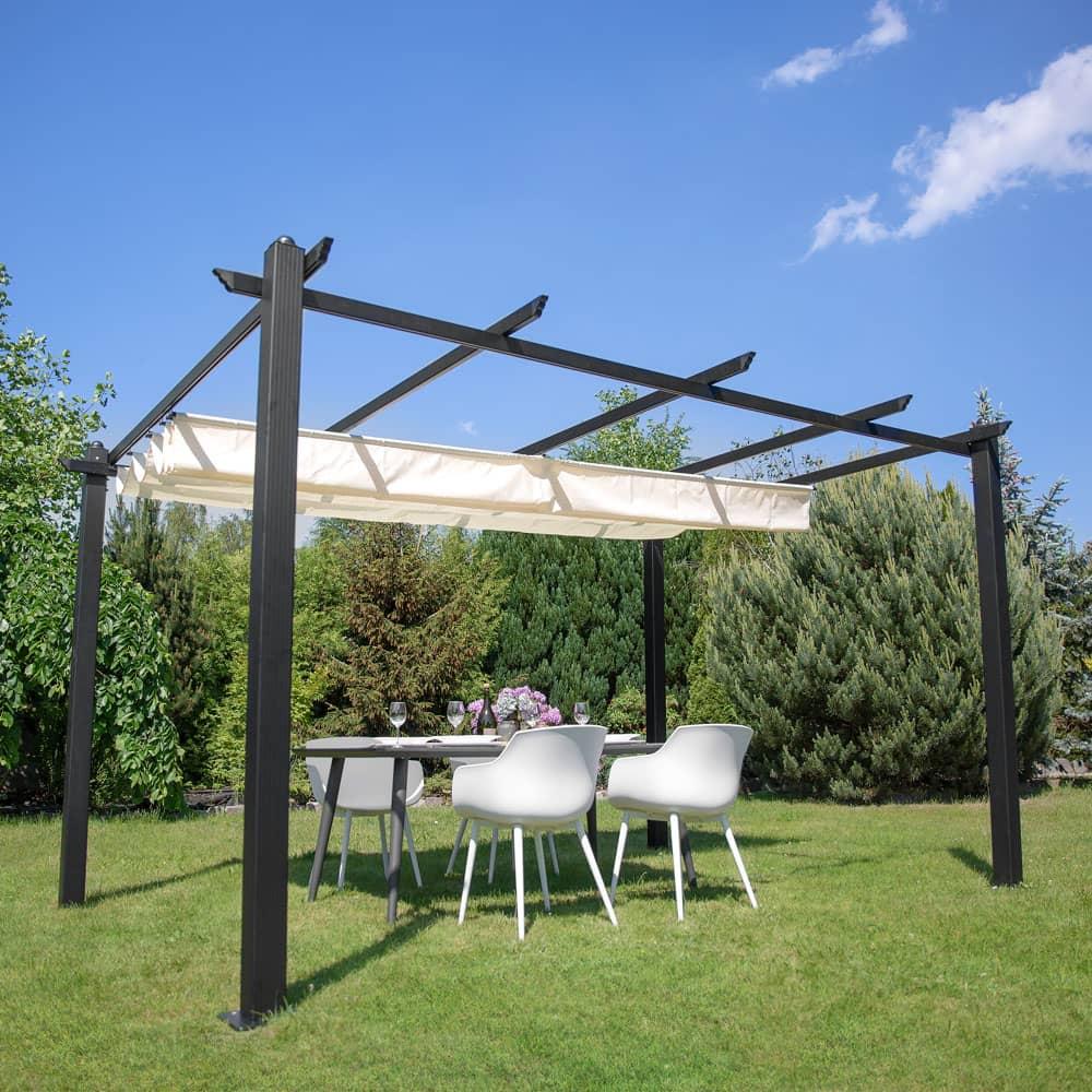 Pergolato da giardino/terrazza Vigo 3 x 4 m ecru PATIO