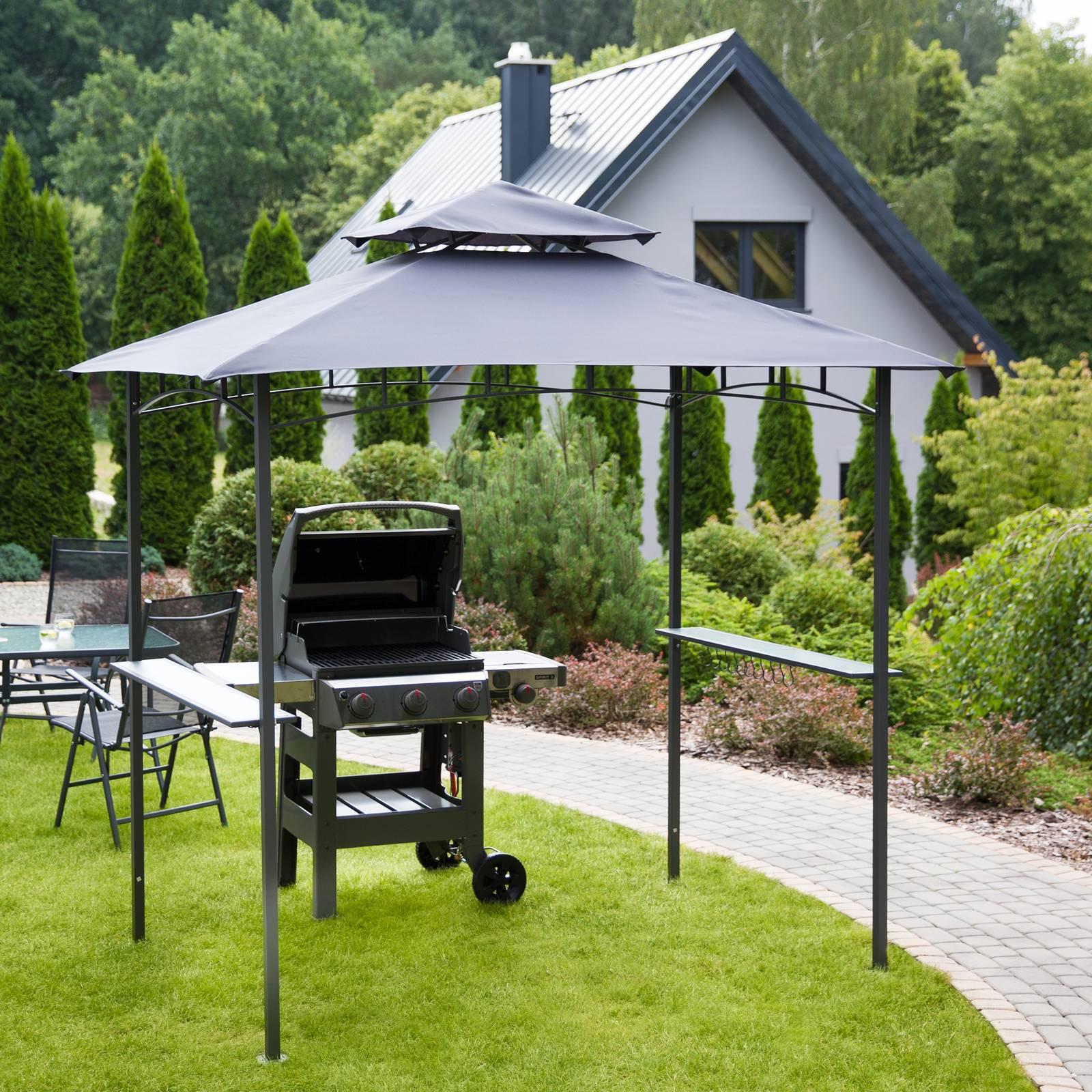 Záhradný pavilón BBQ 2,43 x 1,55 x 2,55 m PATIO