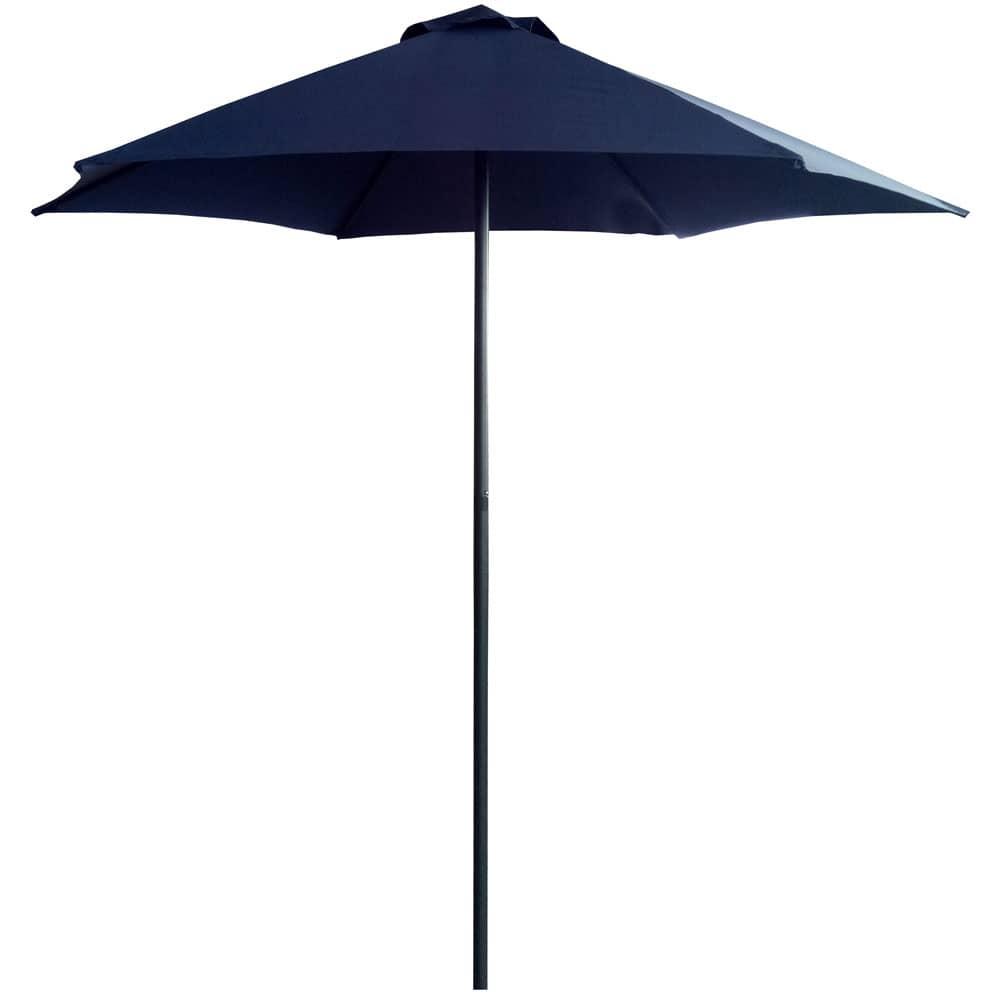 Záhradný slnečník Push Up Dark Blue 2,5 m PATIO