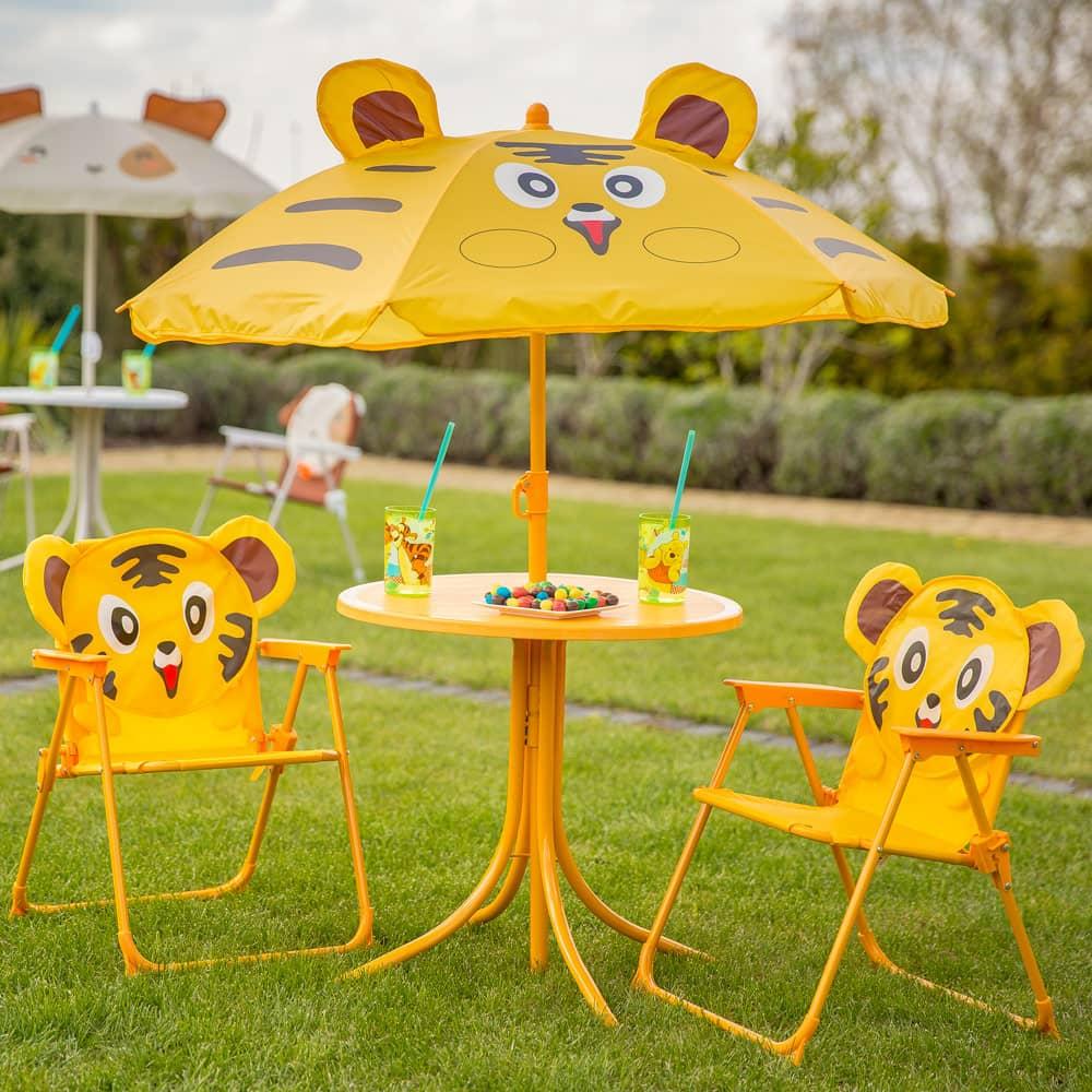 Set di mobili per bambini Tigro PATIO