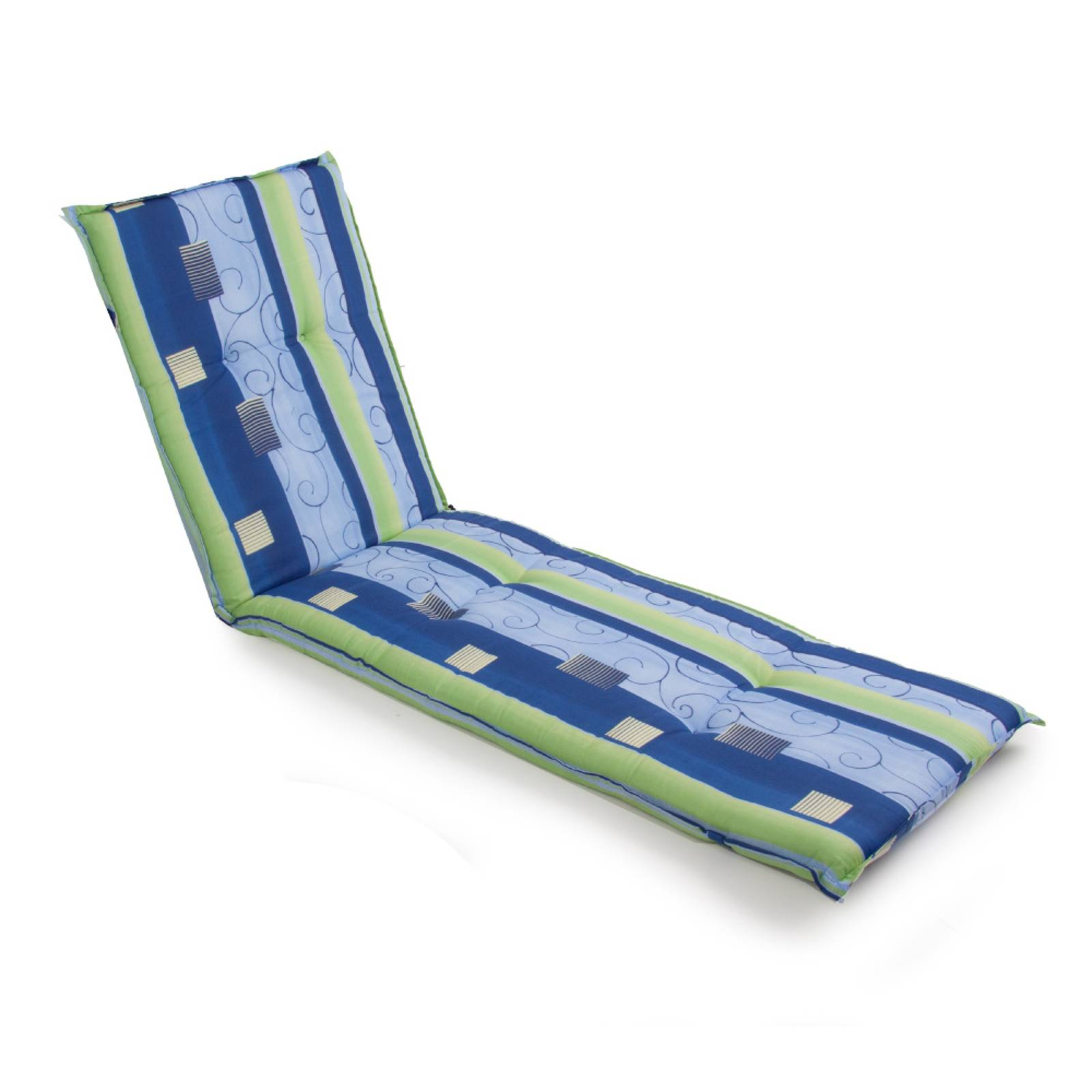 Poduszka na leżak / łóżko Xenon Liege 6 cm PATIO MIX KOLORÓW