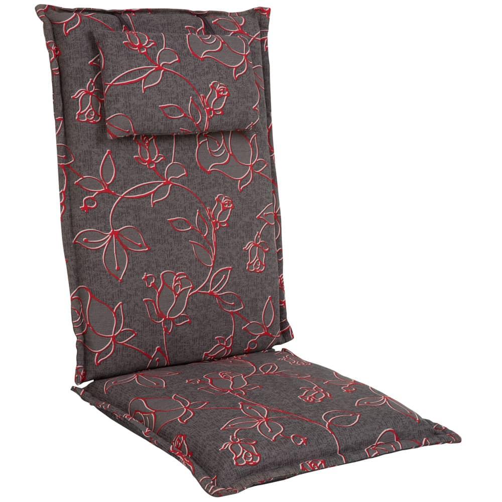 Záhradný vankúš na kreslo s povlakom na zips Premium Hoch 7 cm A021-03HB PATIO