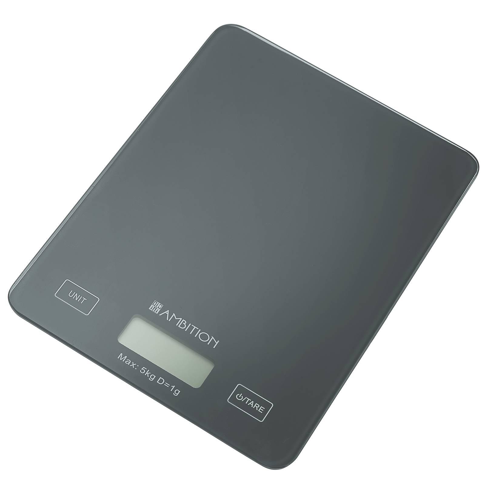 Waga kuchenna Grey 5 kg AMBITION
