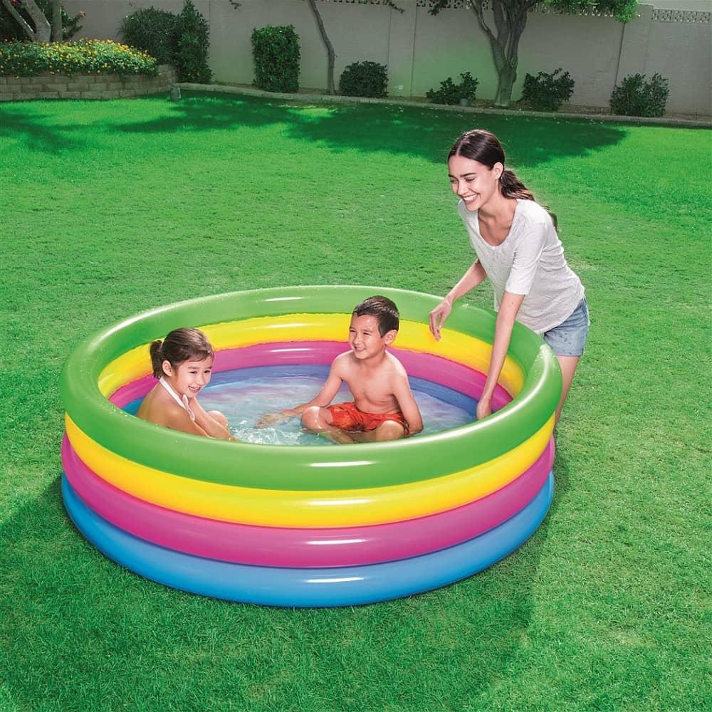Basen dmuchany Play Pool 4 Pierścienie 157 x 46 cm BESTWAY