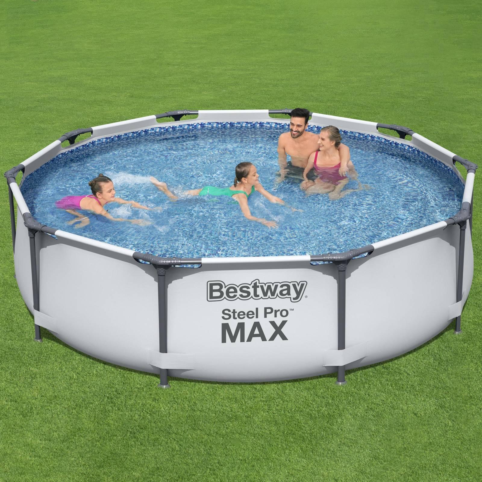 Nadzemný bazén Steel Pro Max 305 x 76 cm 4678 l BESTWAY