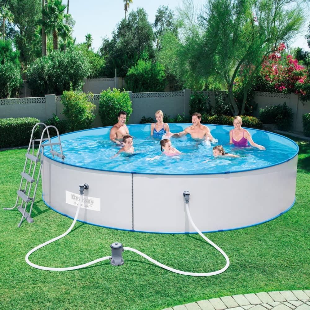 Nadzemný bazén Hydrium Splasher 460 x 90 cm 14110 l 4v1 BESTWAY