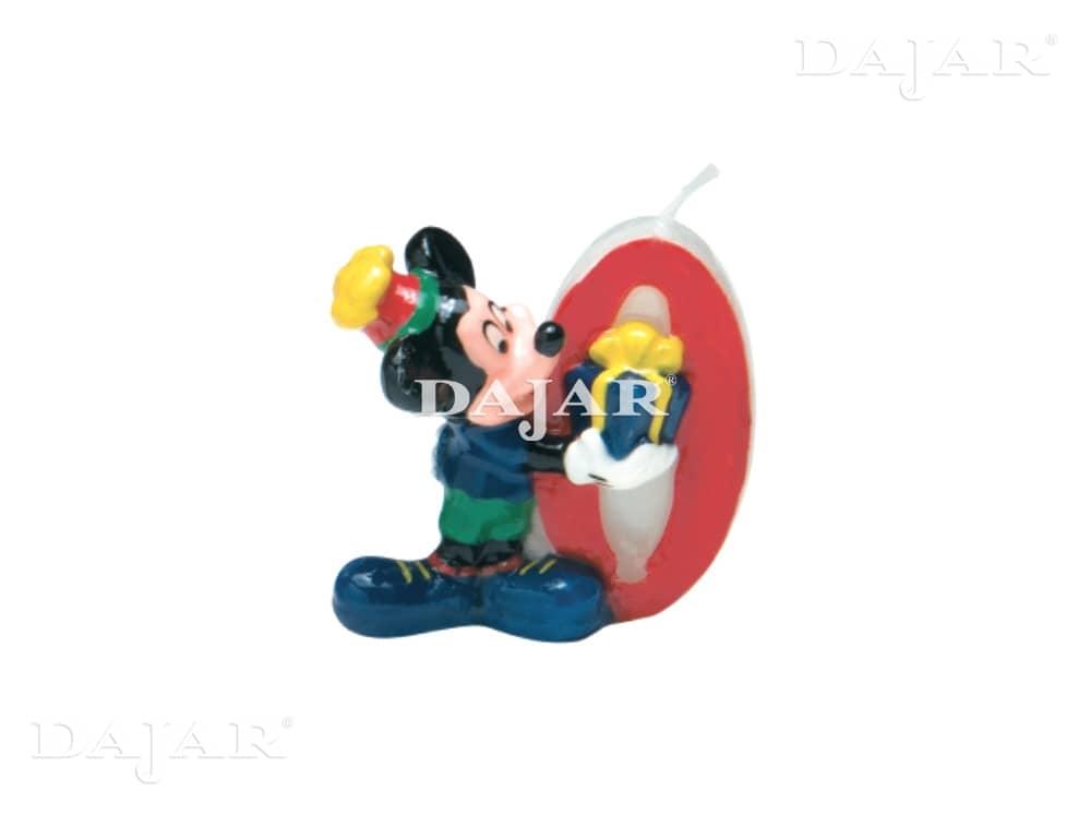 Urodzinowa świeczka Mickey 0 DISNEY
