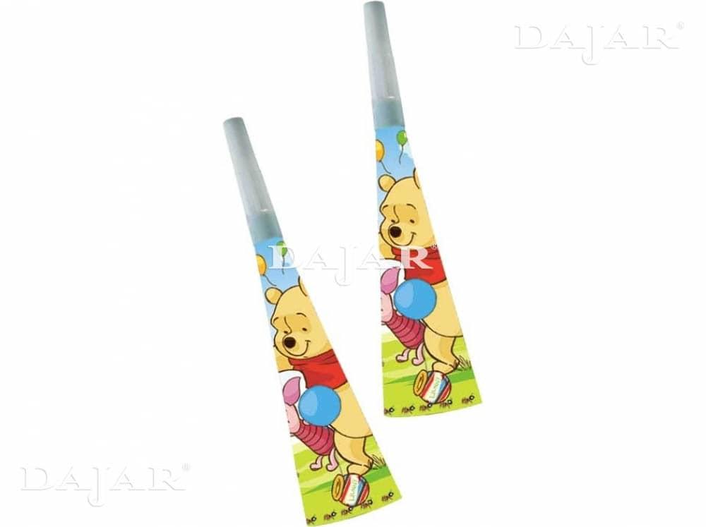 6 trompettes Winnie the Pooh DISNEY