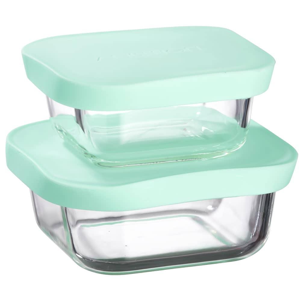 2 boîtes de conservation résistantes à la chaleur Frisk mint 30 cl / 45 cl AMBITION