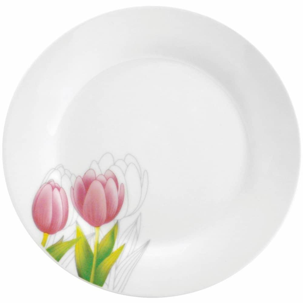 Dezertní talíř Tulipán 19 cm DOMOTTI