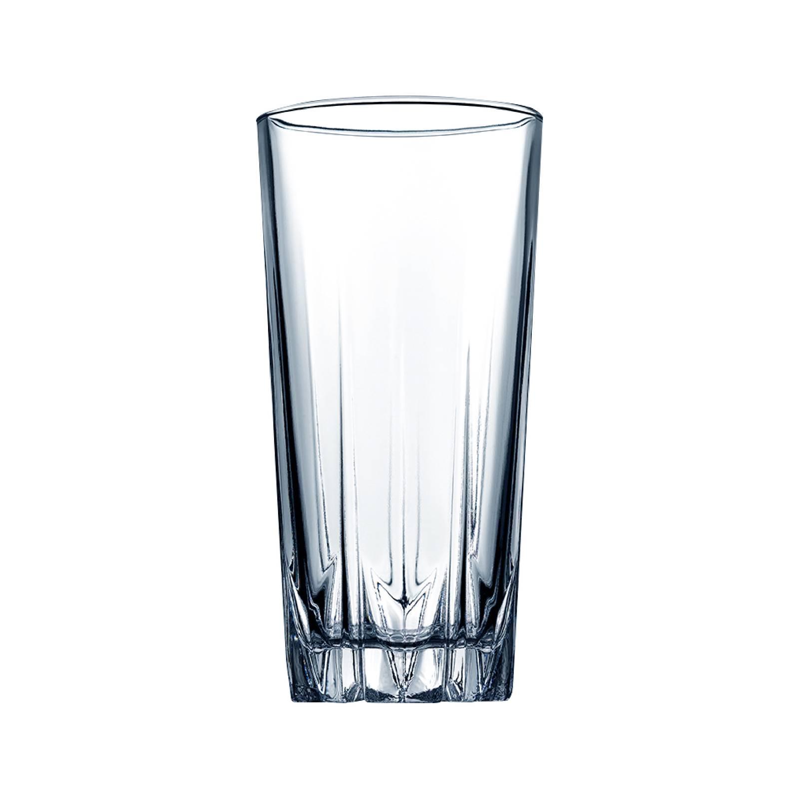 Set of 6 high glasses Karat 330 ml PASABAHCE