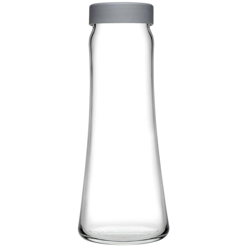 Karafka do wody Basic 1 l z szarą zakrętką PASABAHCE