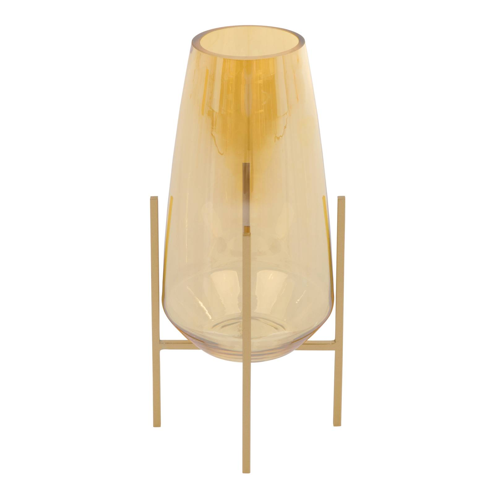 Lampion / Świecznik Gold 12,2 x 12,2 x 25,8 cm MY HOME