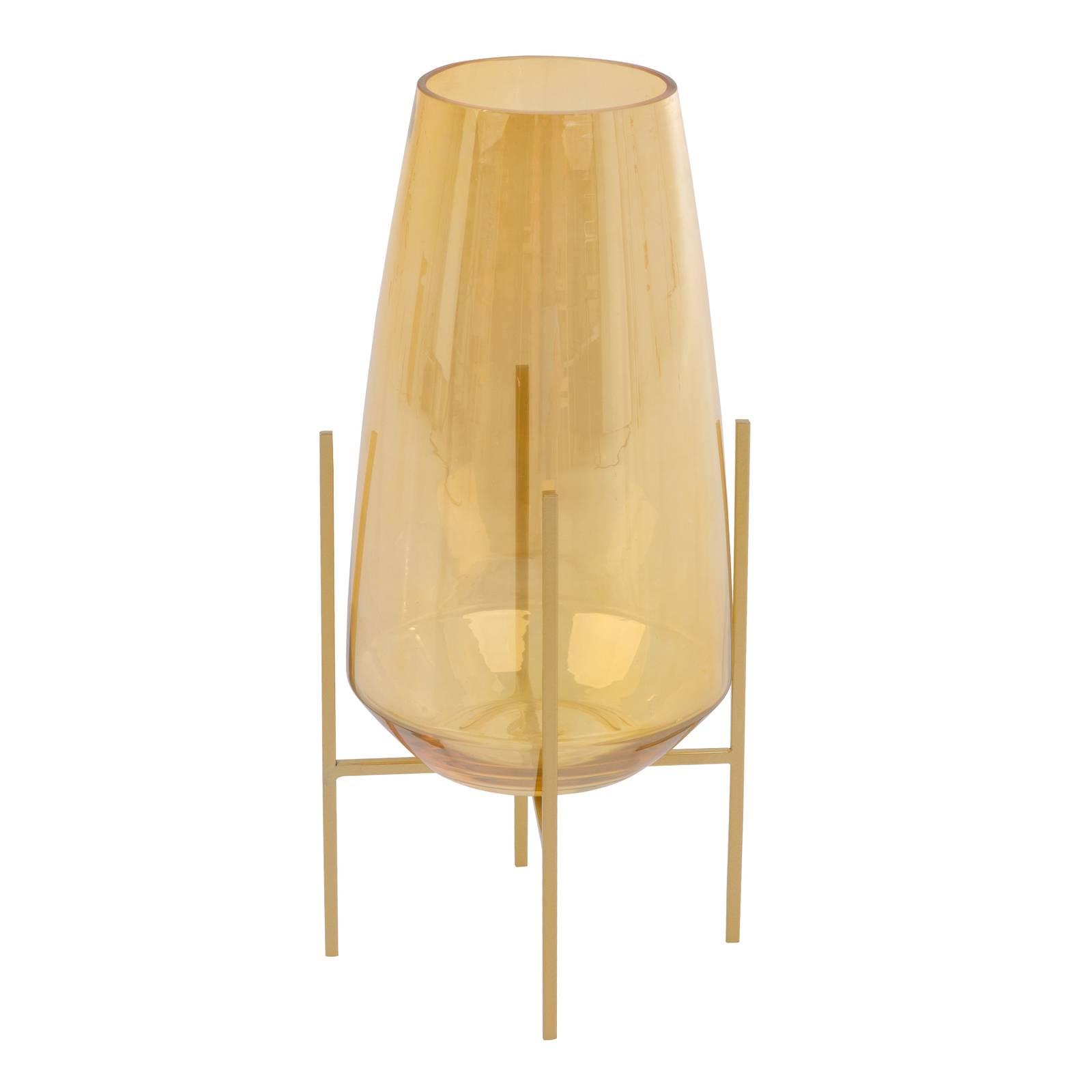 Lampion / Świecznik Gold 15 x 15 x 32,5 cm MY HOME