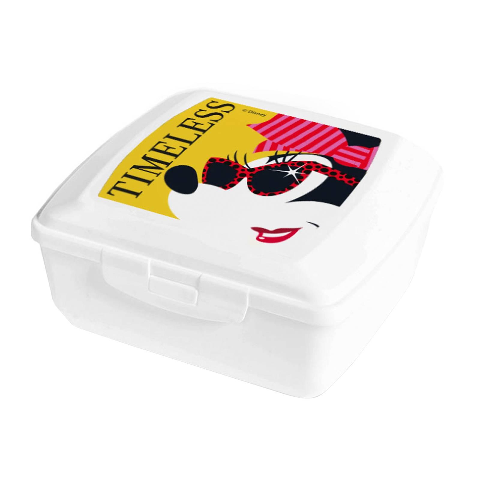 Boîte à goûter Minnie Hollywood 14,5 x 13 cm DISNEY / AMBITION