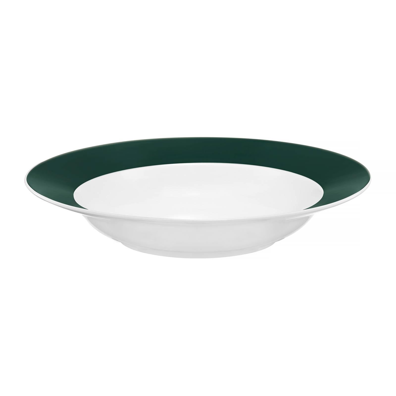 Talerz głęboki Aura Green 23 cm AMBITION