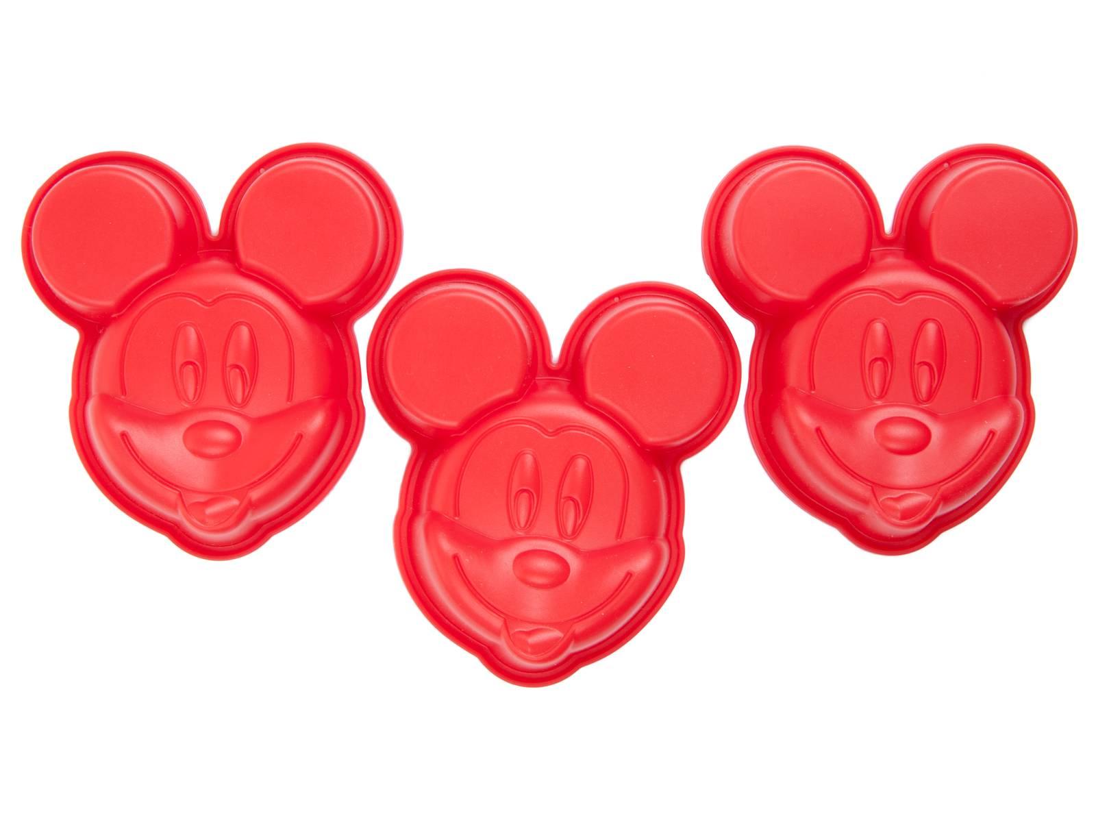 Forma silikonowa Mickey 3 szt. DISNEY