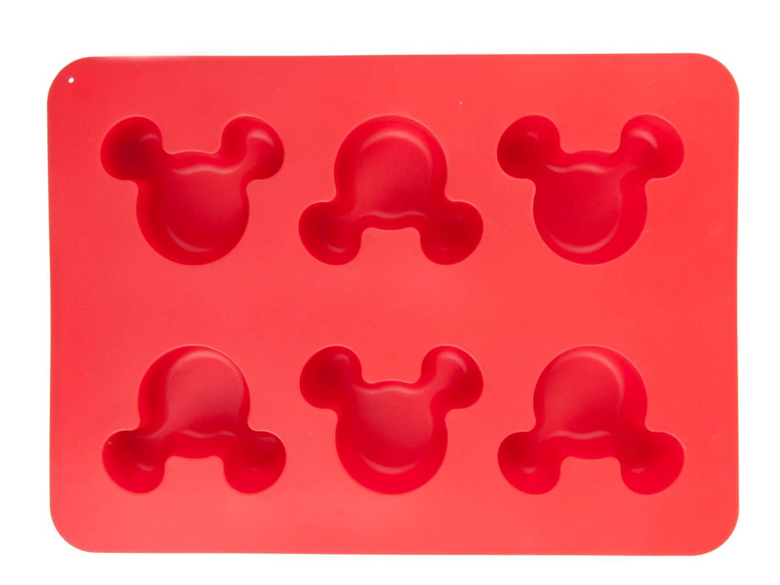 Forma silikonowa muffinki Mickey czerwona DISNEY