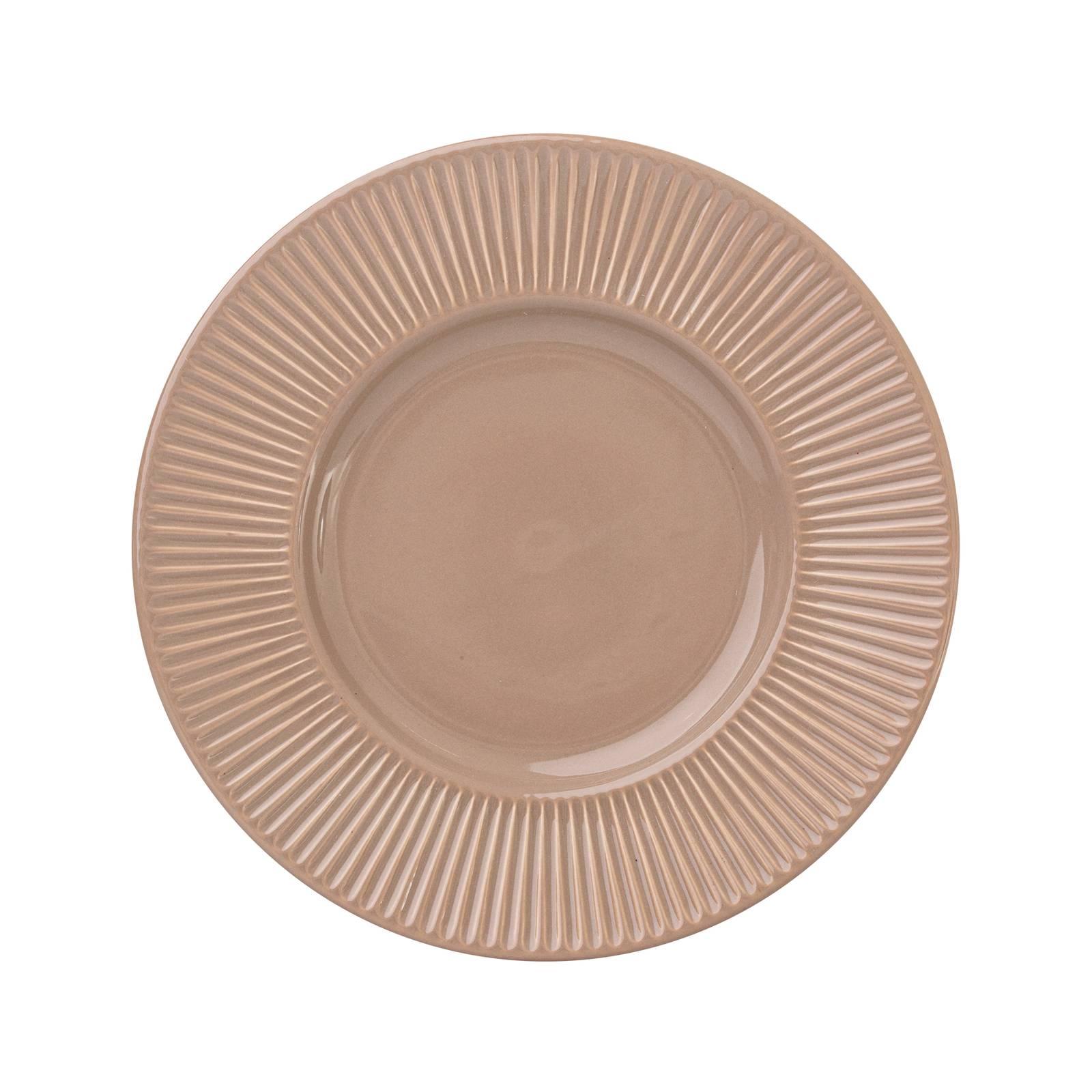 Dessert plate Palette 22.5 cm AMBITION Sensual brown