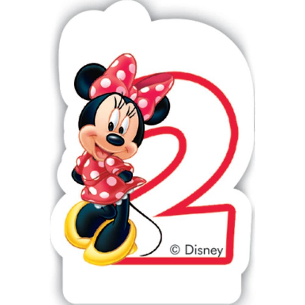 Urodzinowa świeczka Minnie Cafe 2 DISNEY
