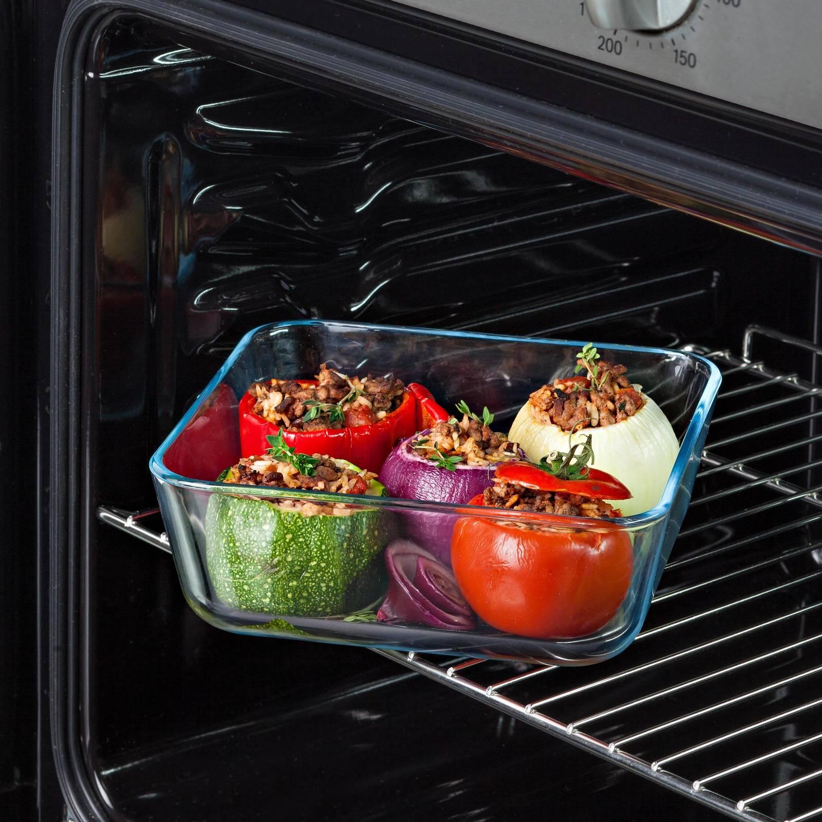 Pojemnik do żywności Cook & Freeze z plastikową pokrywką 2 L PYREX