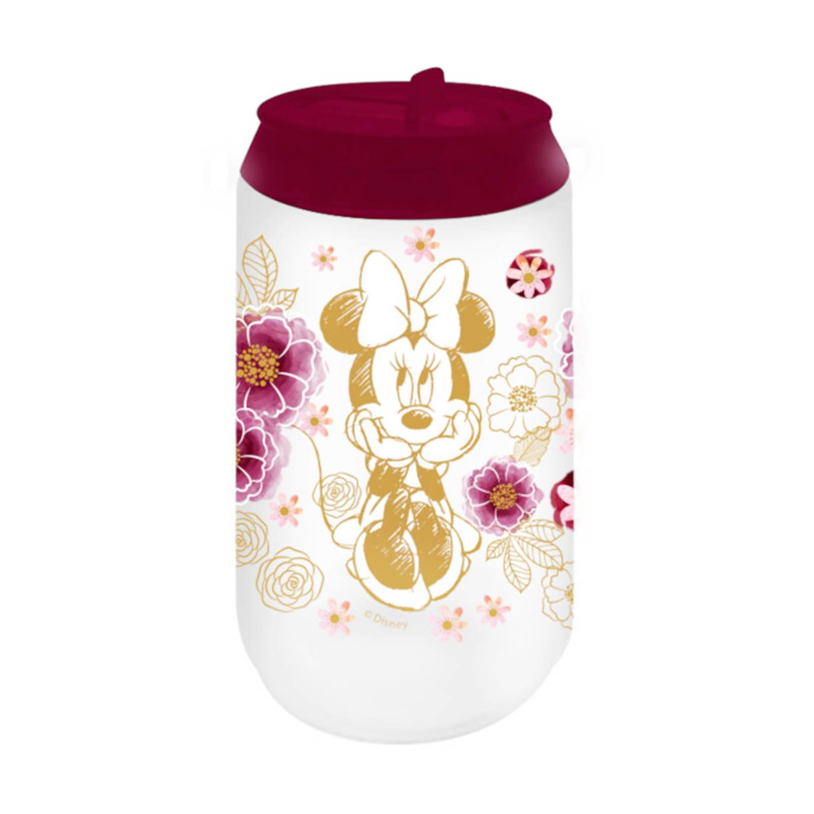 Puszka termiczna Minnie Flowers Gold 300 ml DISNEY