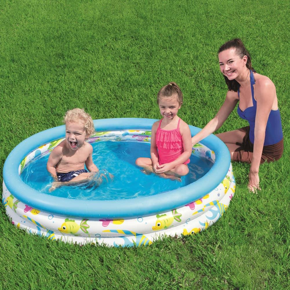 Basen dmuchany Coral Kids Pool 122 x 25 cm BESTWAY