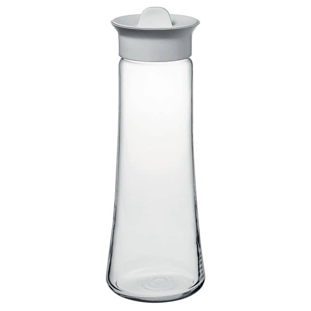 Karafka Basic do wody/soku 1 l z białą hermetyczną zakrętką PASABAHCE
