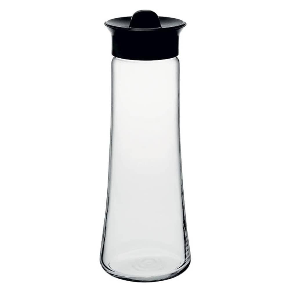 Karafka Basic do wody/soku 1 l z czarną hermetyczną zakrętką PASABAHCE
