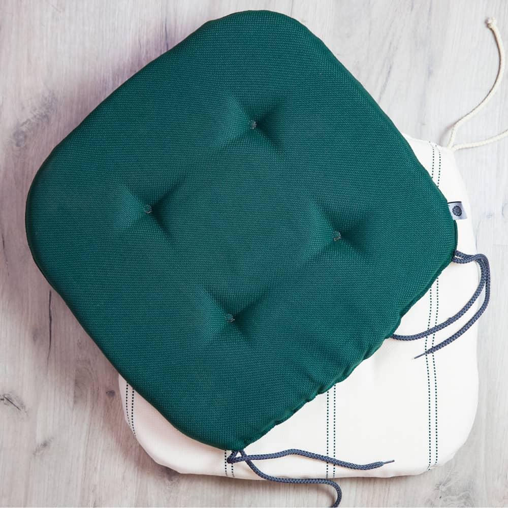 Pernă pentru scaun Green Stripes Chloe 39 x 40 x 4 cm D017-02BB PATIO