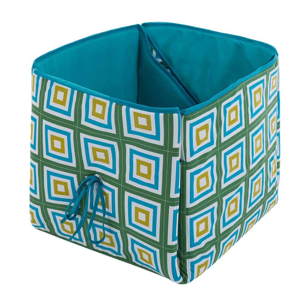 Cesta para juguetes/colchoneta alfombra Diamantes L068-21PB 33 x 33 x 33 cm PATIO