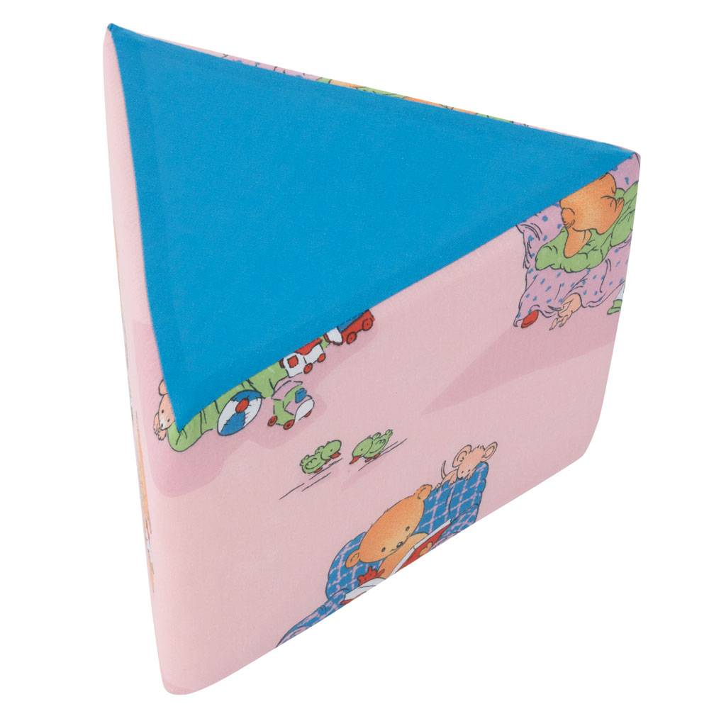 Puf triangular Ositos L069-11BW 28 x 28 x 20 cm PATIO