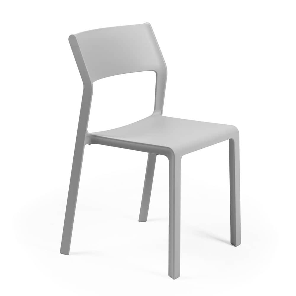 Krzesło ogrodowe Trill Bistrot Grigio NARDI