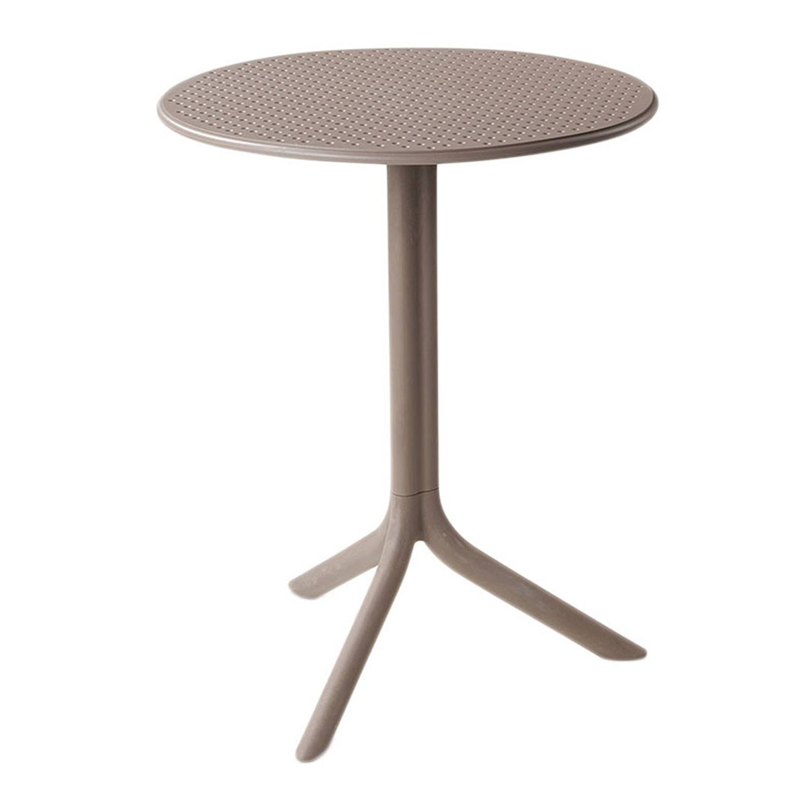 Stół ogrodowy  Step Tortora 60,5 cm NARDI