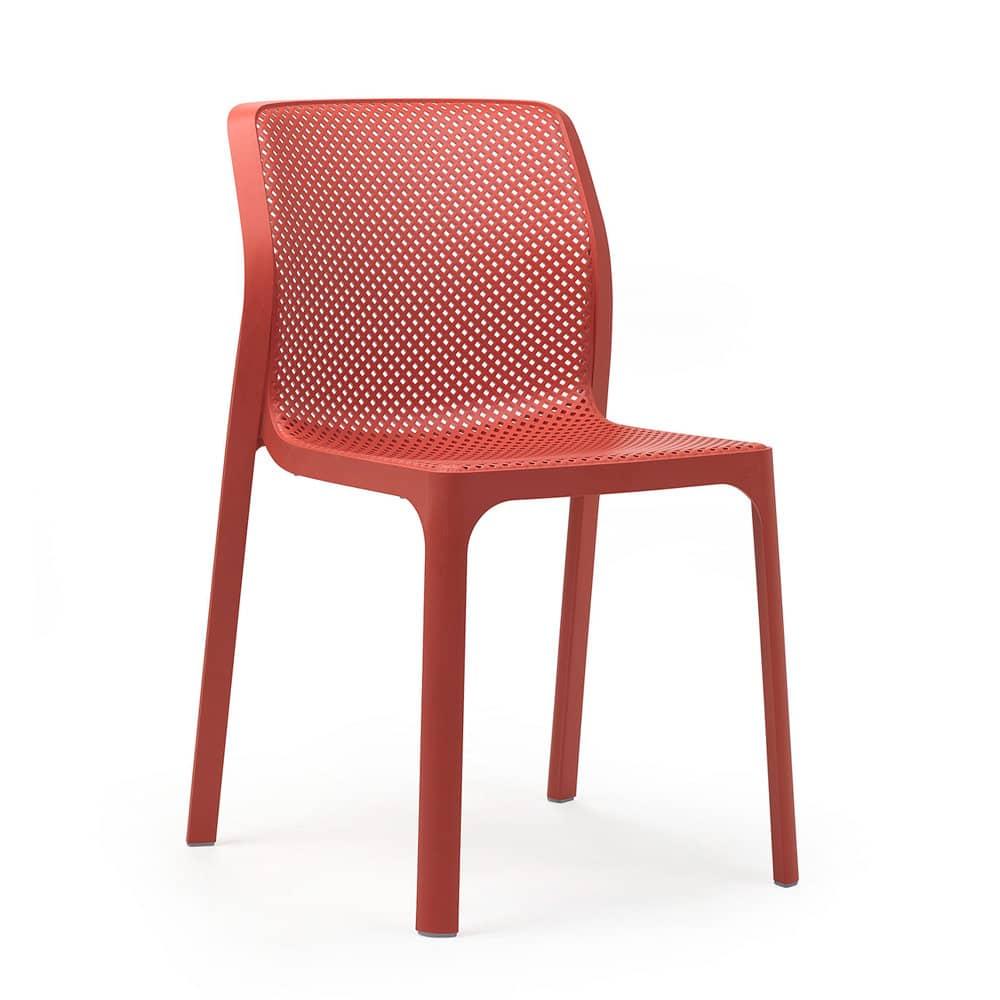 Krzesło ogrodowe Bit Corallo NARDI