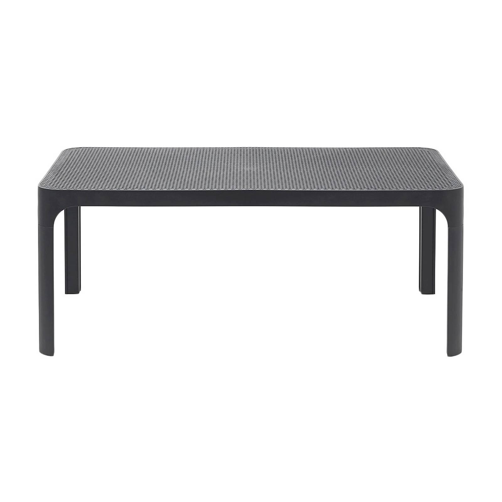Stół ogrodowy Net Antracite 100 x 60 cm NARDI