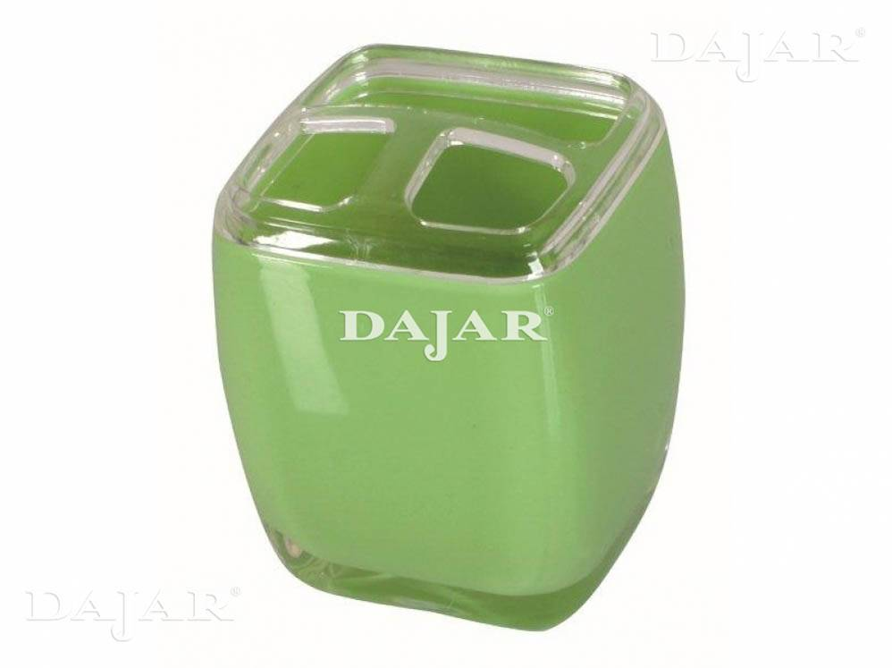 Tandborste mugg AKRYL GREEN