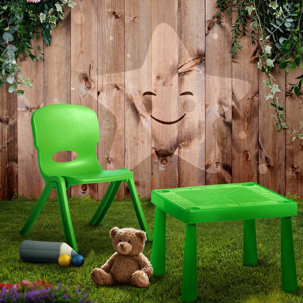 Sedia per bambini 32 x 27 x 51 cm verde PATIO