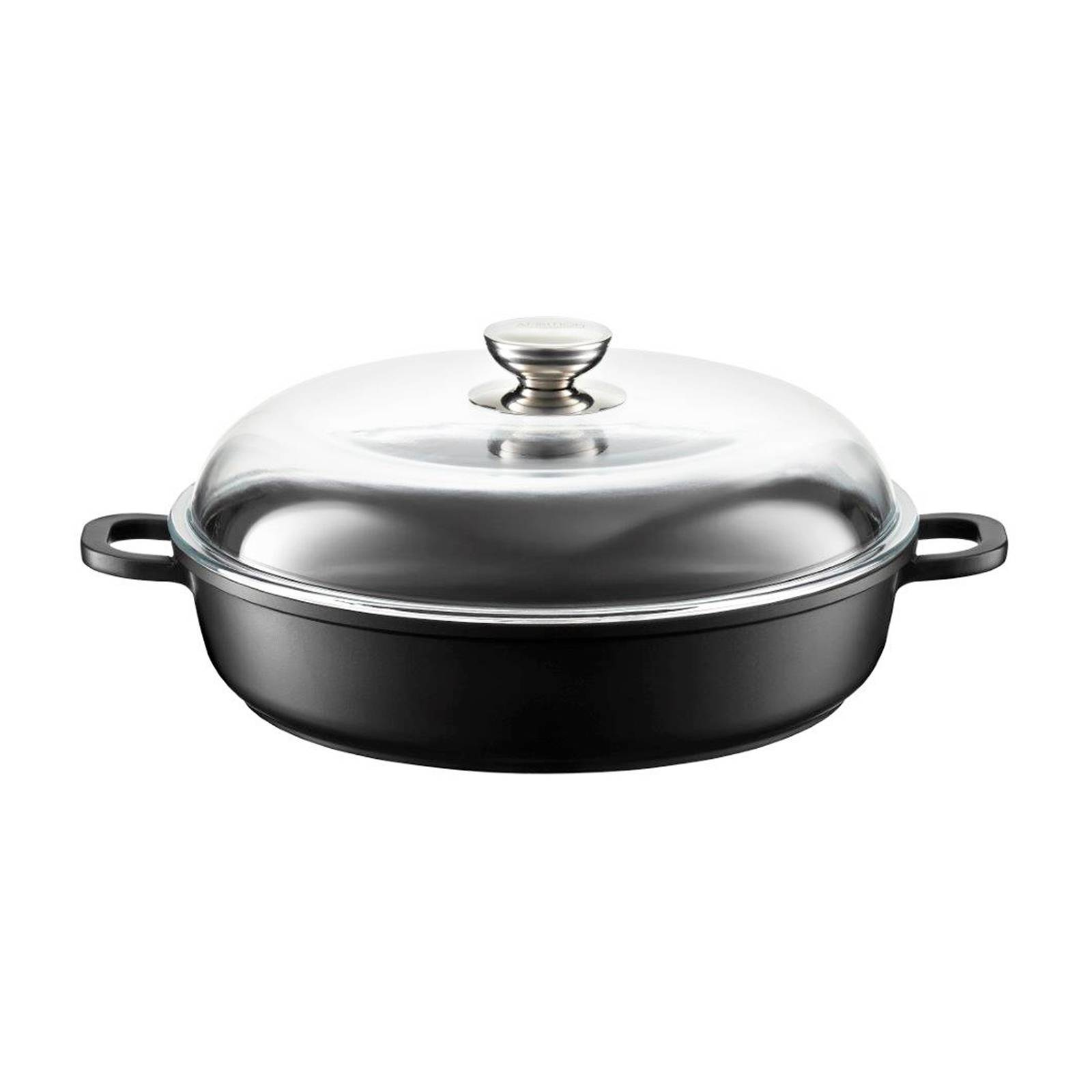 Roaster / deep frying pan Magnat with lid 26 cm AMBITION