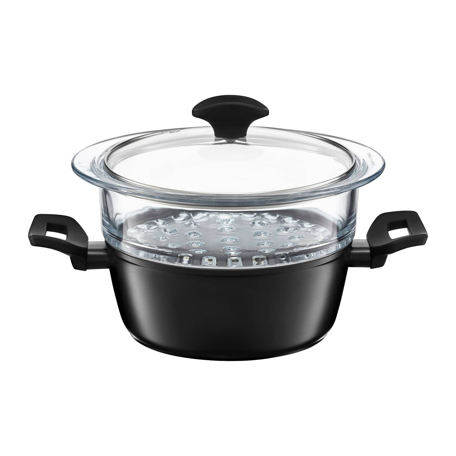 Garnek do gotowania na parze Carbon 20 cm. AMBITION