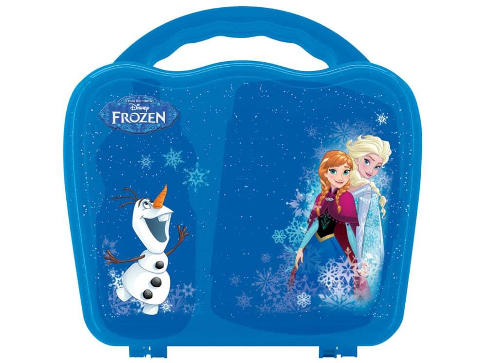 Svačinová sada Frozen Wave Box 3-díly DISNEY