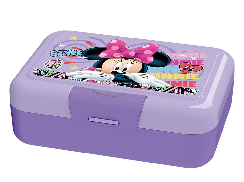 Svačinový box Minnie Style Violet 16,5 x 11,5 cm DISNEY