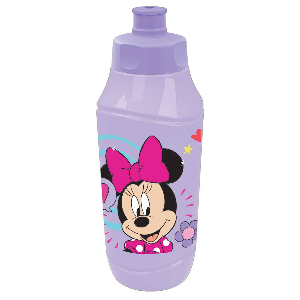Water bottle Minnie Style 350 ml purple DISNEY