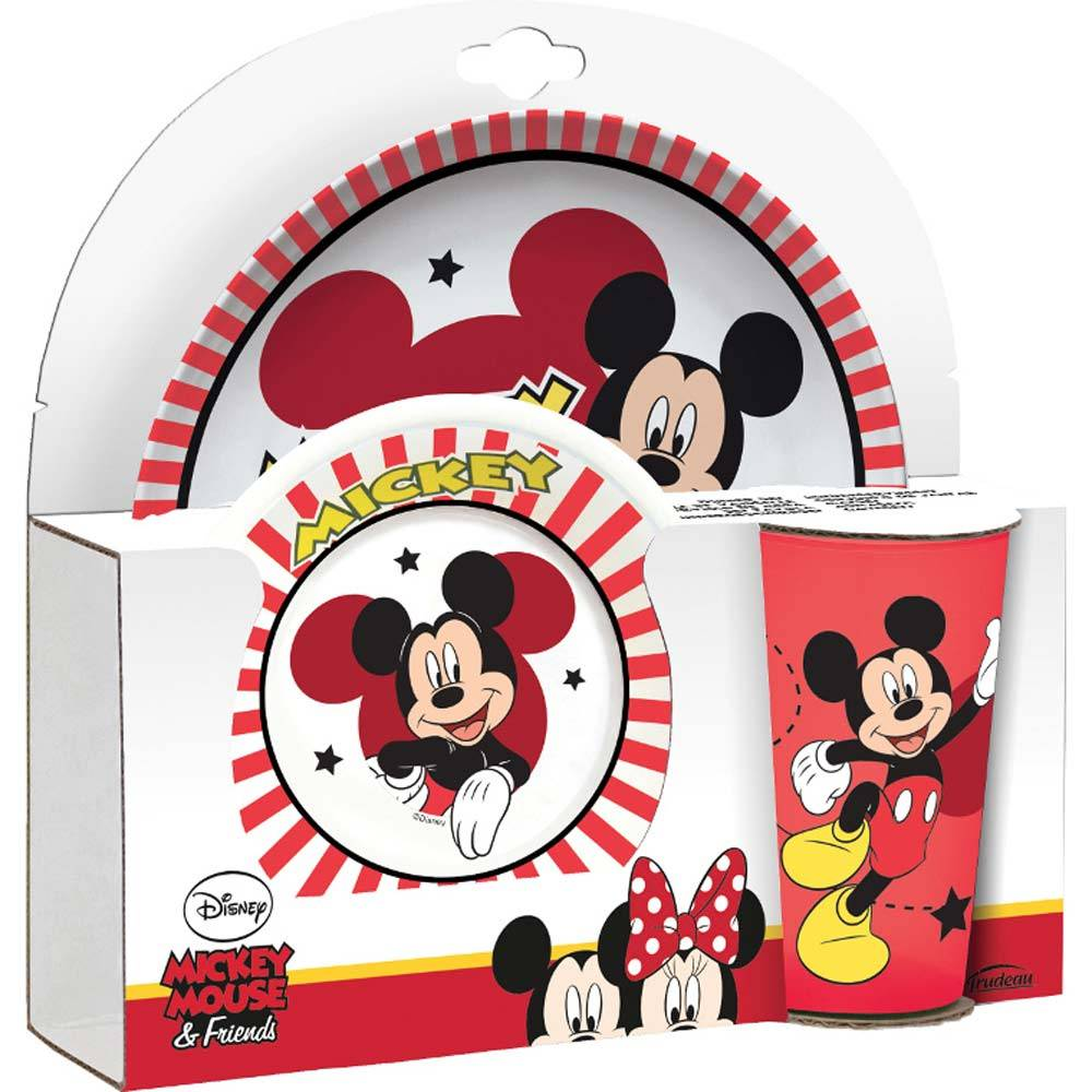 Zestaw Mickey 3-elementowy DISNEY